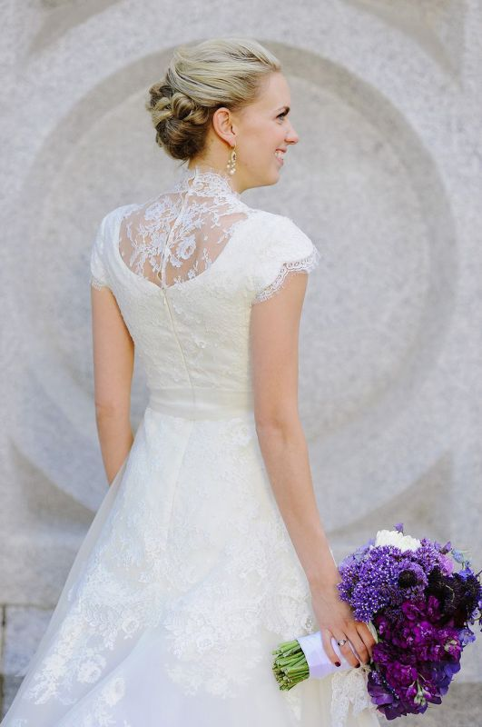 Modest lds wedding dresses 2014 2015 fashion trends 2016 for Mormon modest wedding dresses