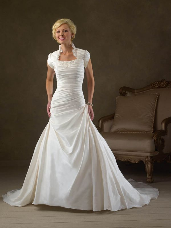 Modest lds wedding dresses 2014 2015 fashion trends 2016 for Lds wedding dresses utah