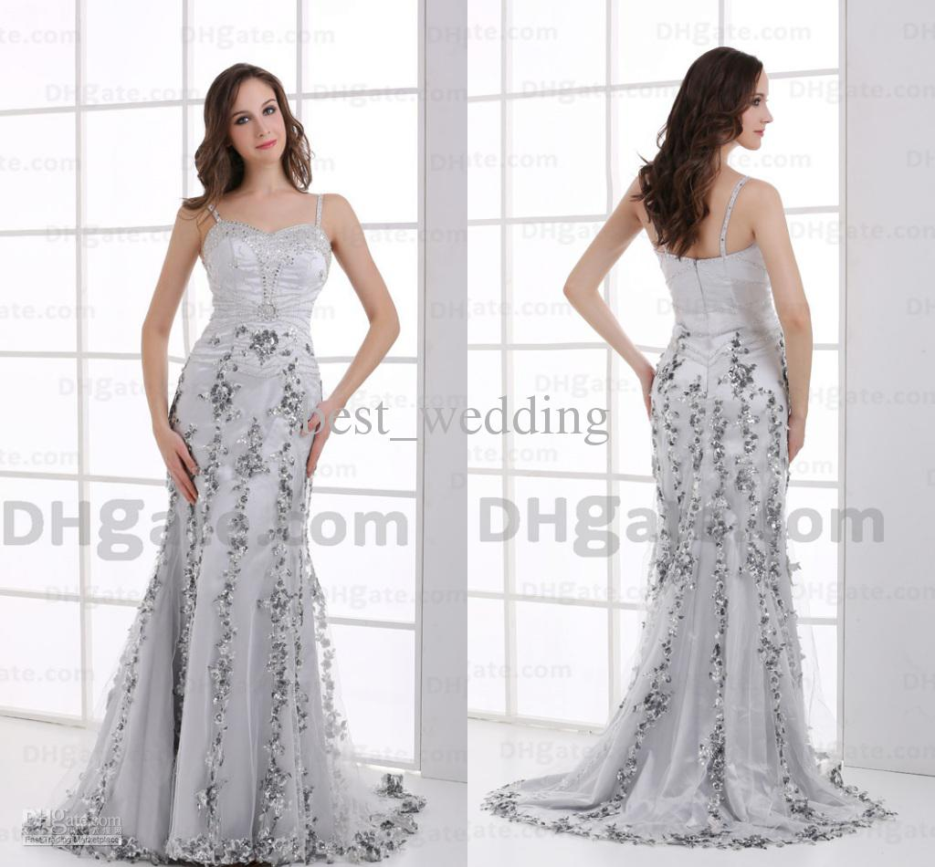 Mother Of The Bride Dresses Silver