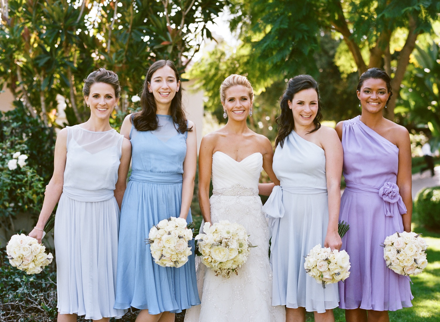 Navy Blue Bridesmaid Dresses And Gray Suits 2014 2015