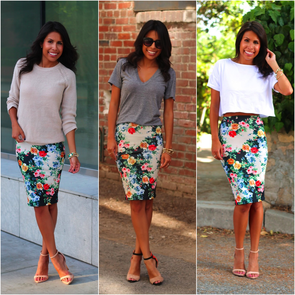 pencil skirt for going out 2014 2015 fashion