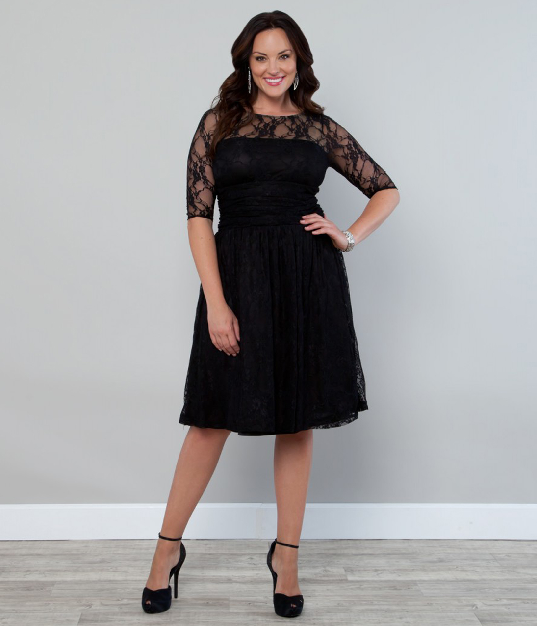 v neck plus size clothes