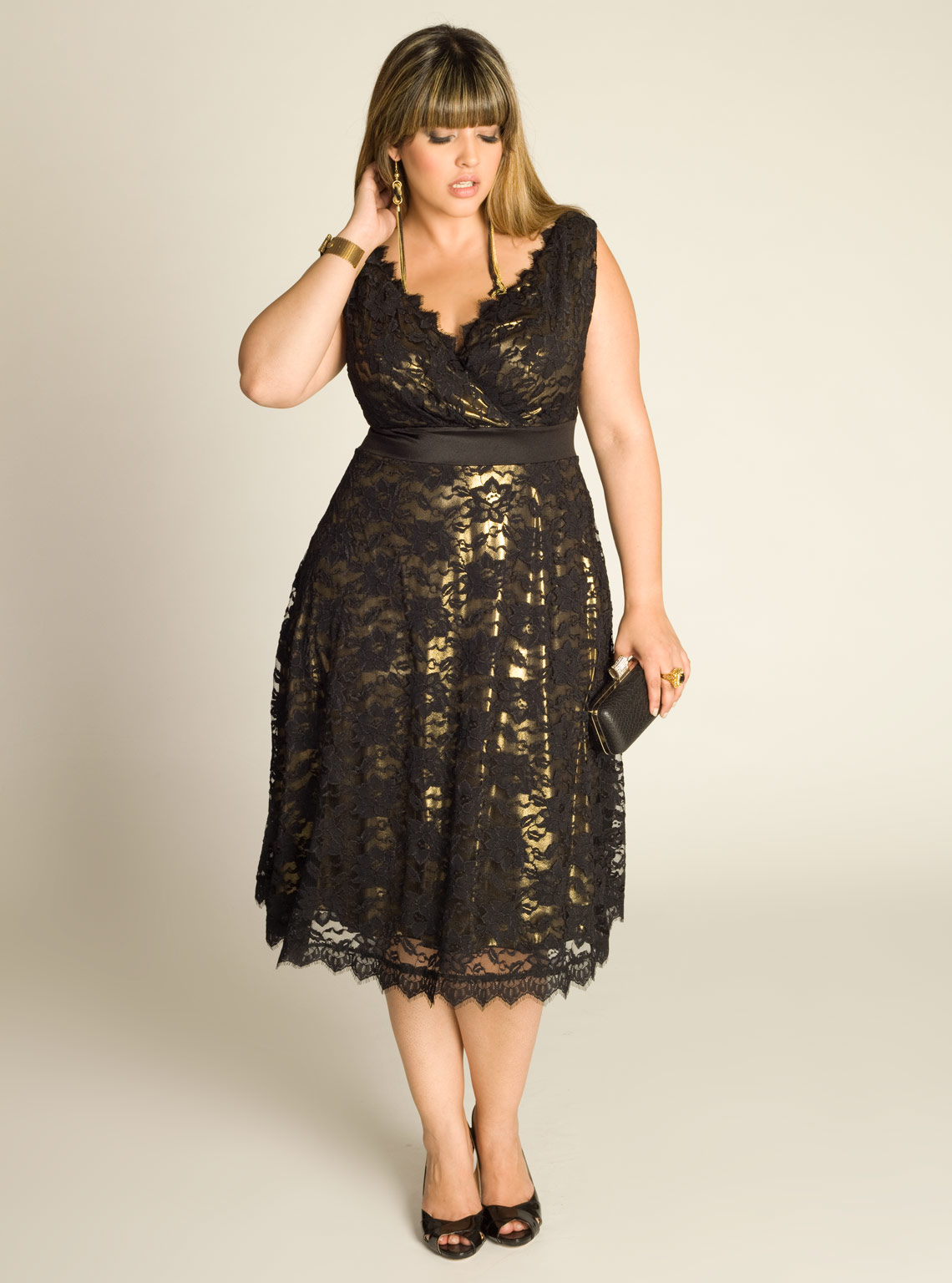 Fall 2014 Plus Size Dresses with Appraise Fall on