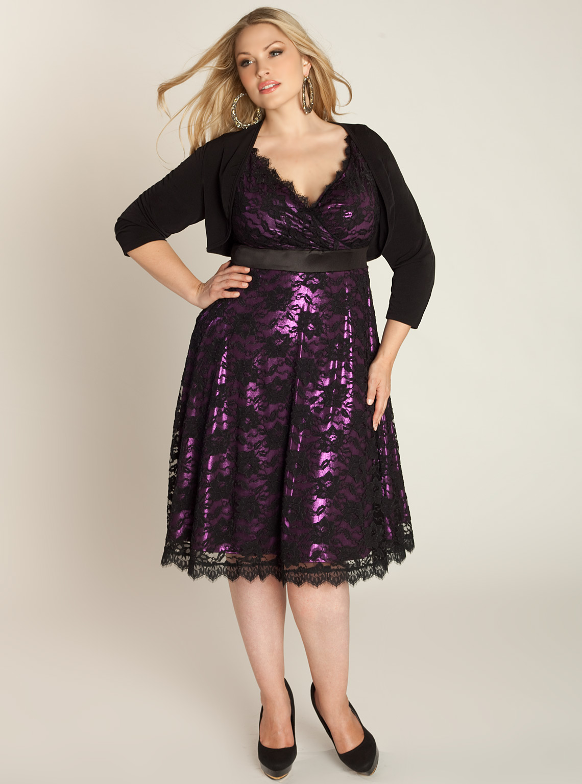 Shop plus size sleeveless or cold shoulder dresses to wear this season. You deserve a gorgeous dress for every occasion and party. For the best selection, choose from our plus size party & occasion dresses.