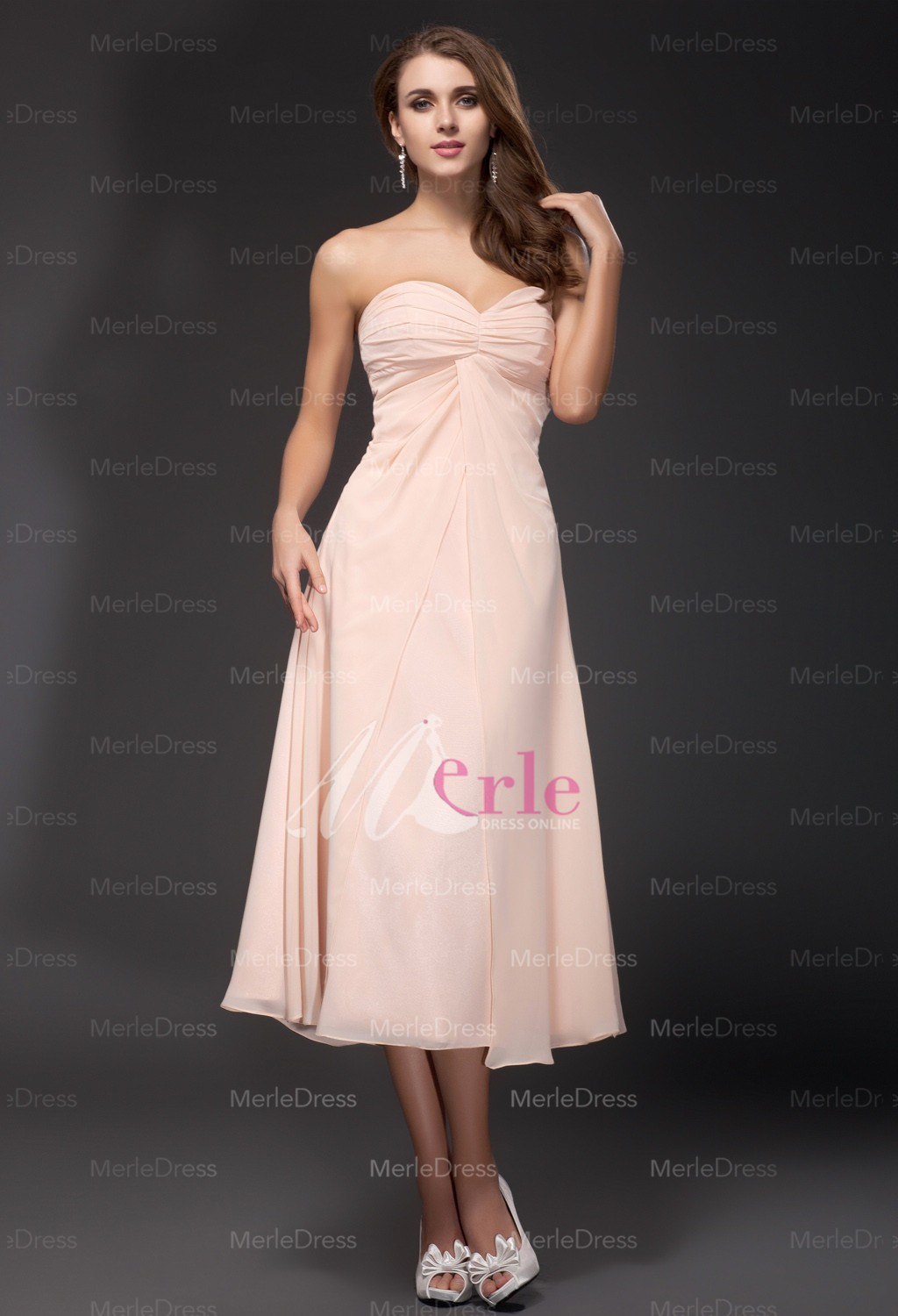 Bridesmaid Tea Length Dresses 19