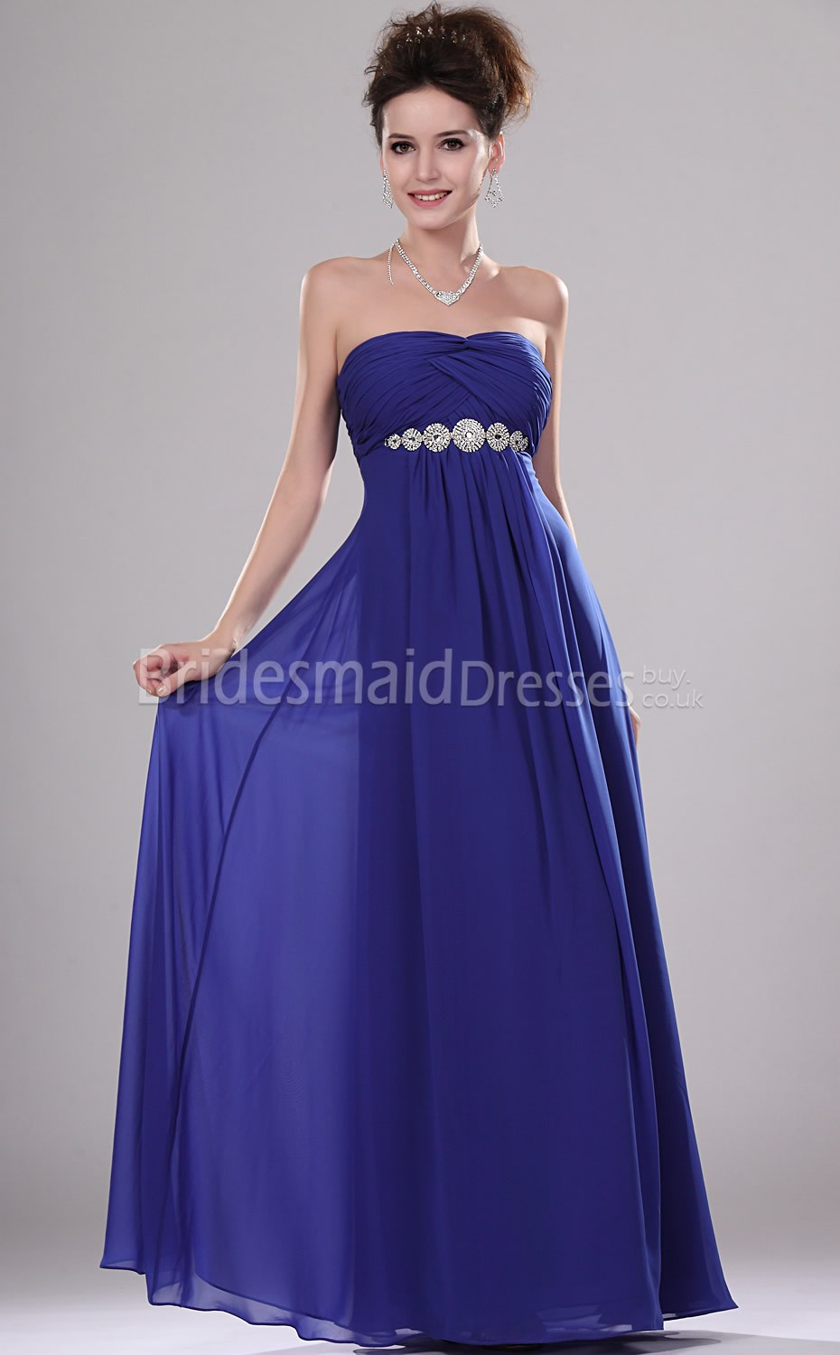 Bridesmaid Dresses In Blue