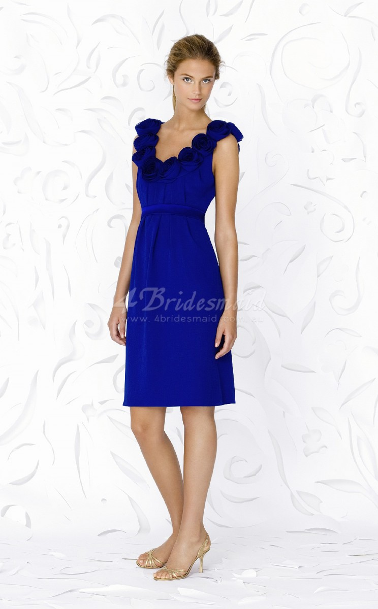 Bridesmaid Tea Length Dresses 4