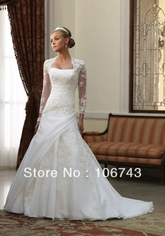 Wedding Dresses Styles For Petite Brides 6