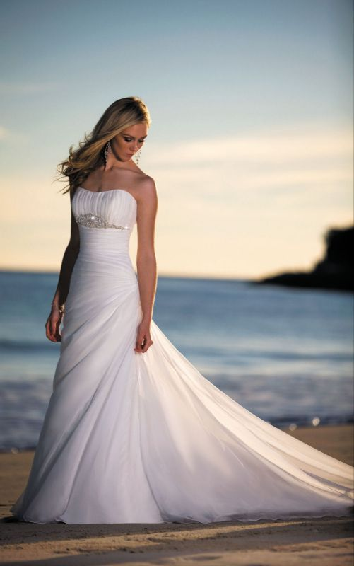 Wedding dresses beach style 2014 2015 fashion trends for Wedding dresses for the beach 2015
