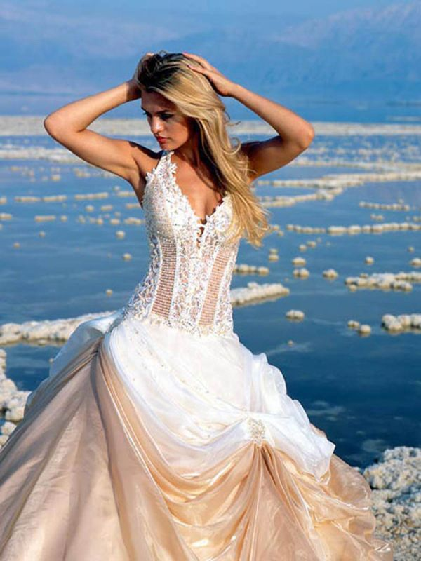 wedding dresses beach theme 2014 2015 fashion trends With beach theme wedding dresses