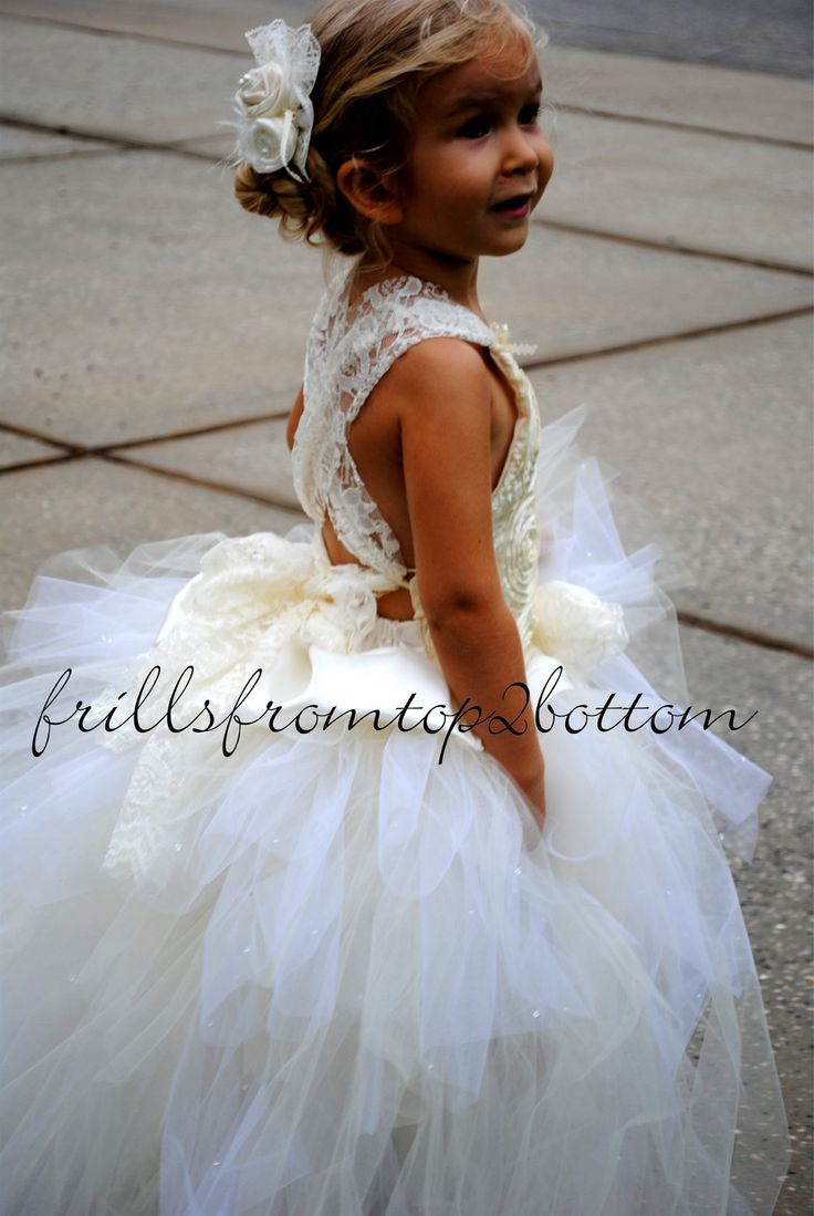 Tutu Flower Girl Dresses Edmonton 80