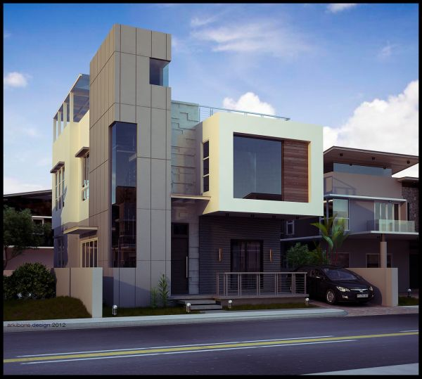 Modern House Exterior Design Pictures 2016 Fashion