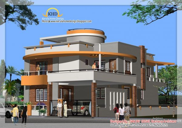 Modern indian house designs 2016 fashion trends 2016 2017 for Modern house plans 2016