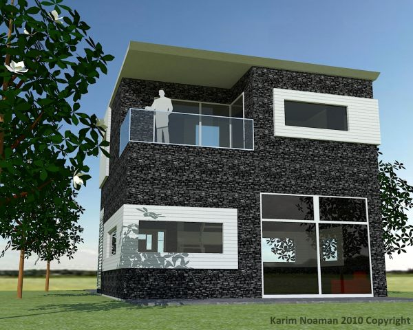 Simple modern house 2015 2016 fashion trends 2016 2017 for Simple and modern house