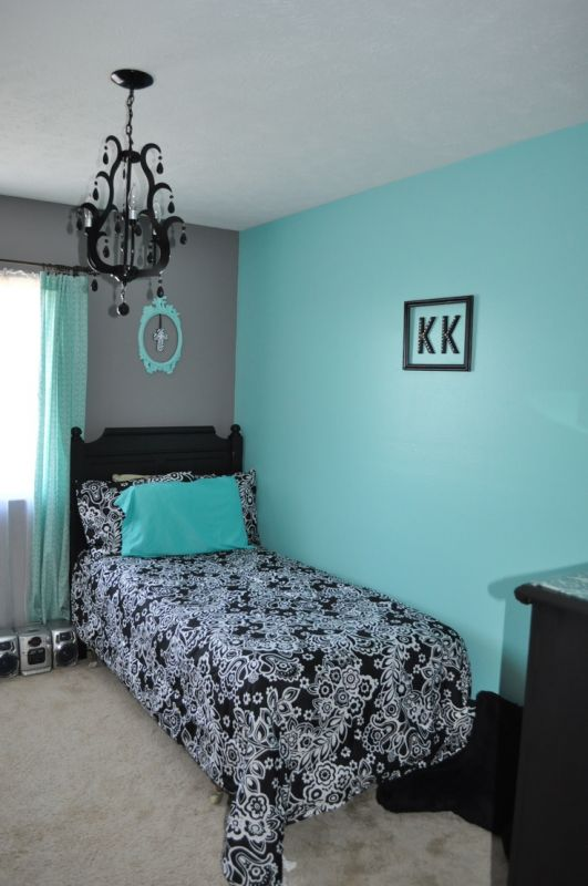 Teal Black And White Bedroom Shopping Guide We Are