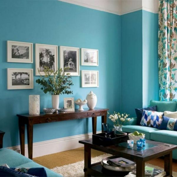 turquoise living room 2015 2016 fashion trends 2016 2017