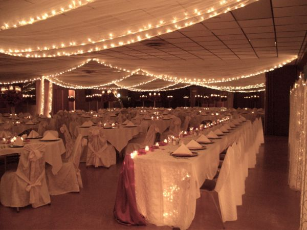 Wedding decorations for reception hall 2015 2016 fashion for Wedding hall decoration items
