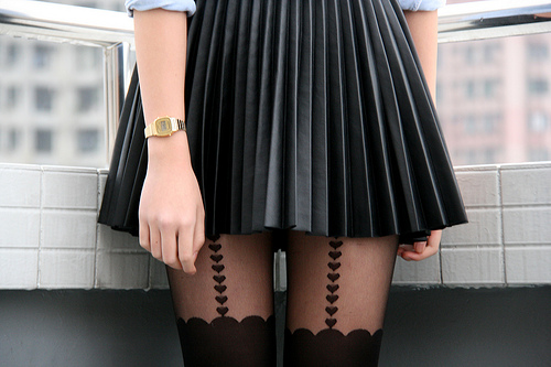 black leather skirt h m 2014 2015 fashion trends 2016 2017
