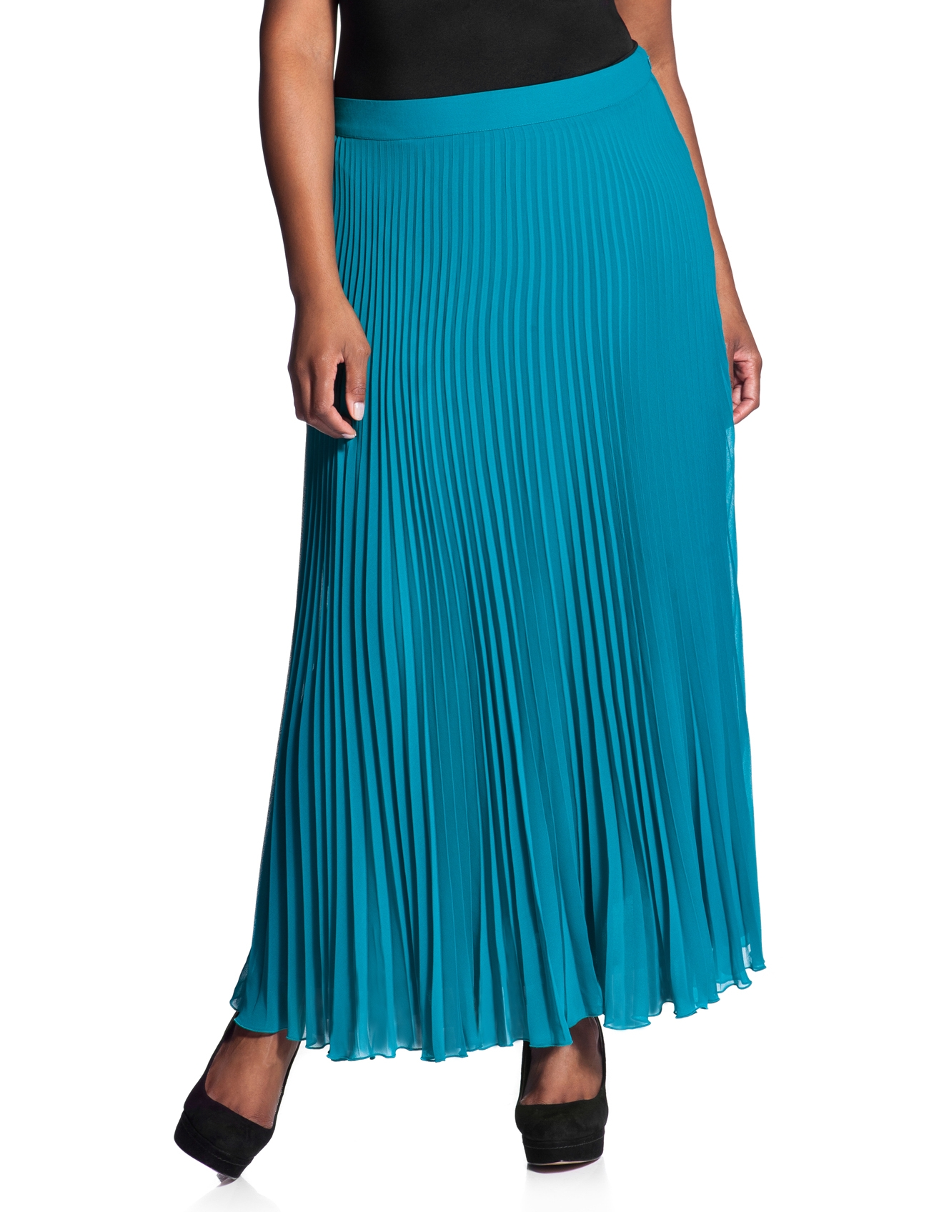pleated maxi skirt plus size 2014 2015 fashion trends