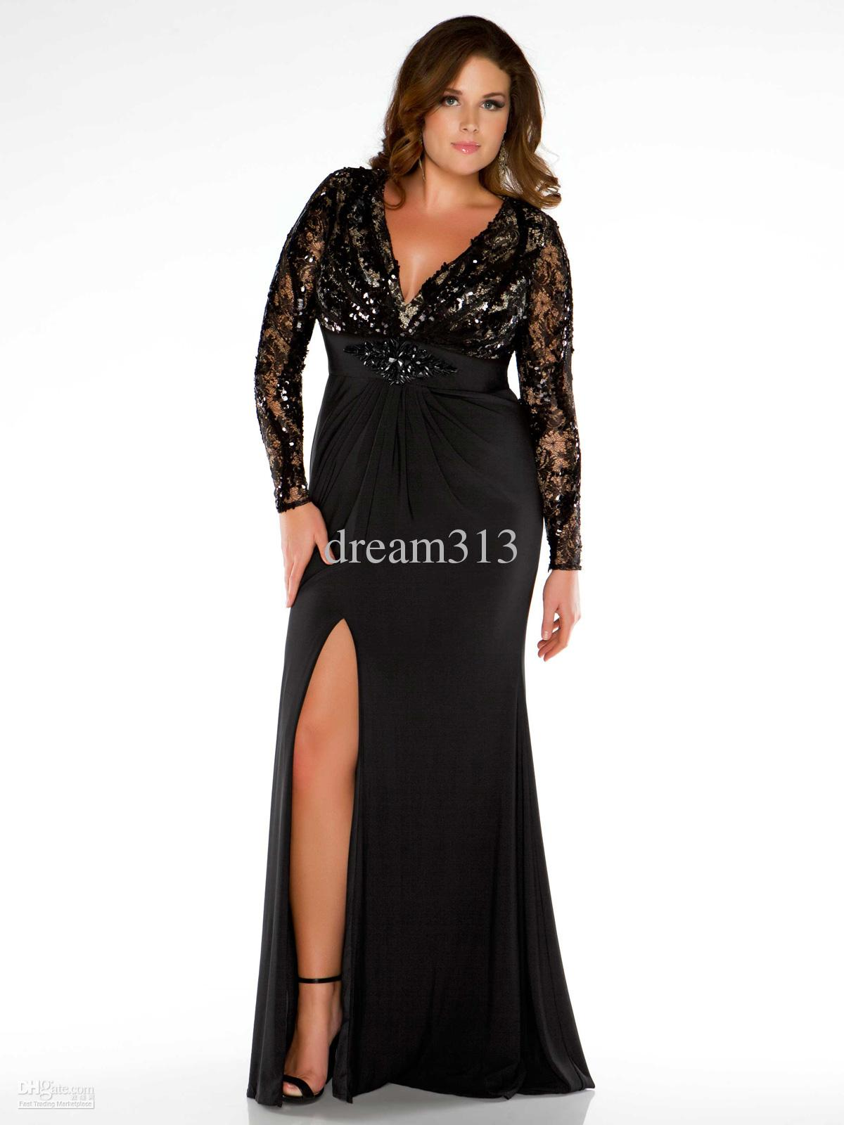 Long Sleeve Prom Dresses Plus Size Shopping Guide We