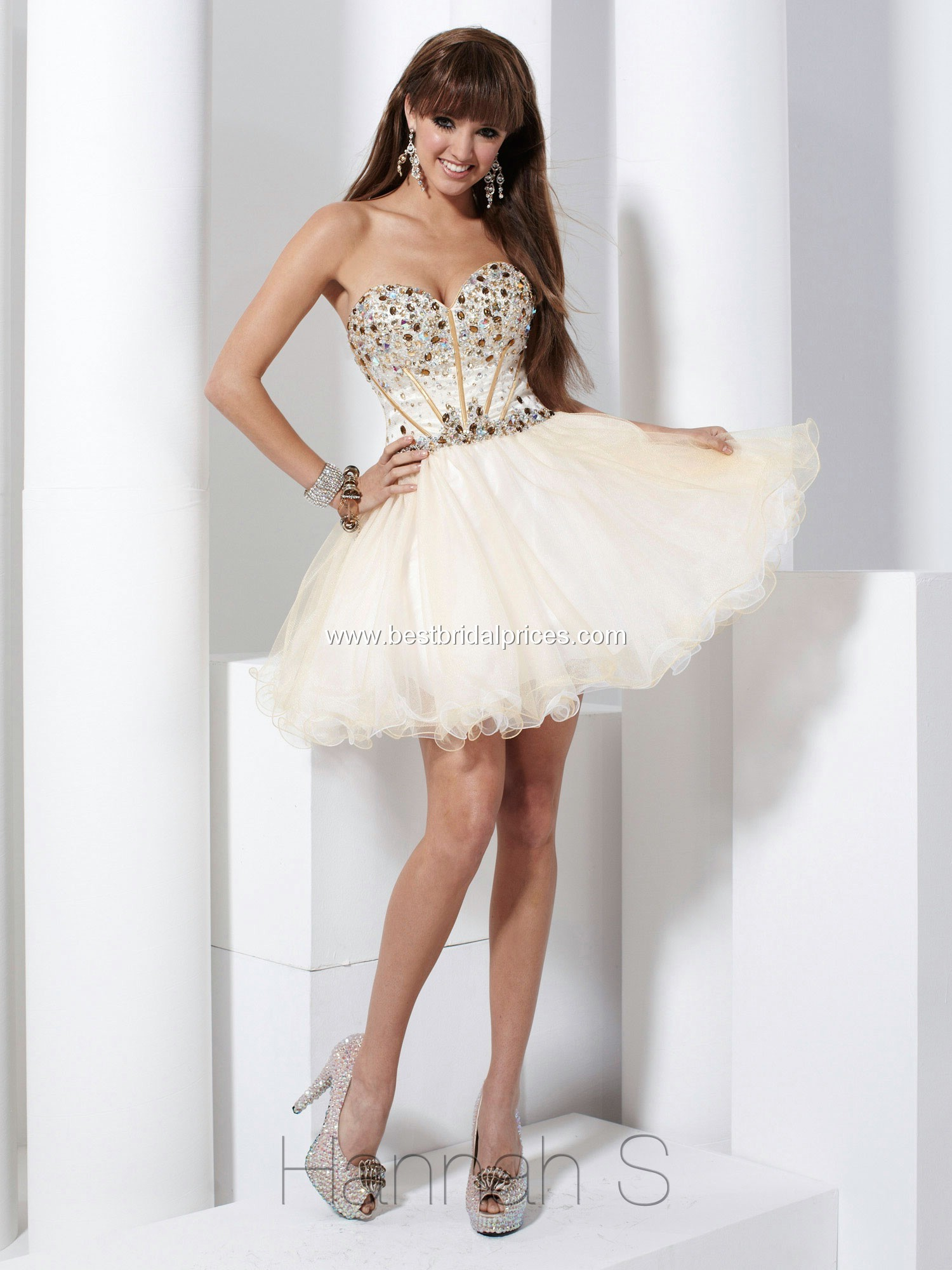 Short Poofy Homecoming Dresses