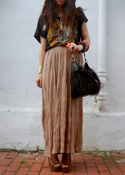Maxi Skirt Outfits Tumblr Fashion Trends