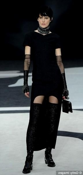 The Little Black Dress Chanel 2015 2016 Fashion Trends