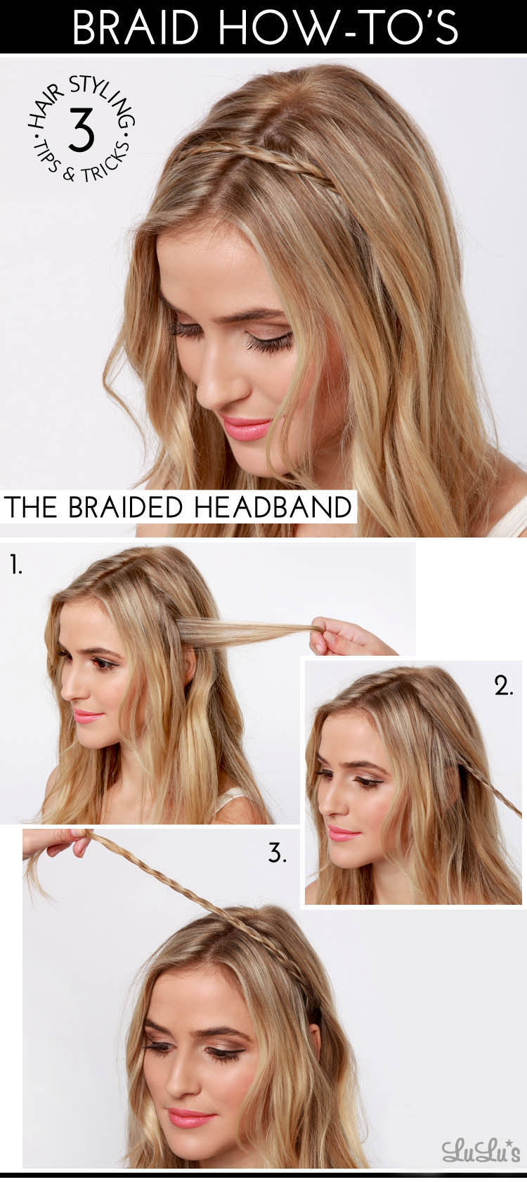 Cute braids tumblr step by step