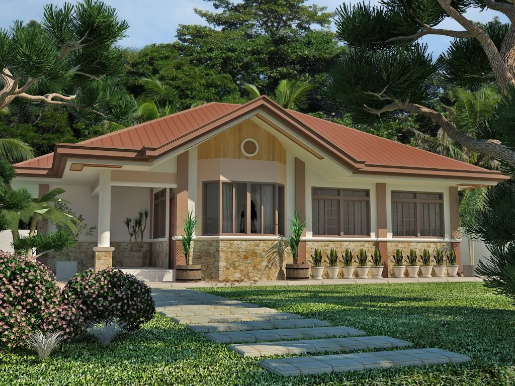 Simple house design in the philippines 2016 2017 fashion Simple bungalow house plans