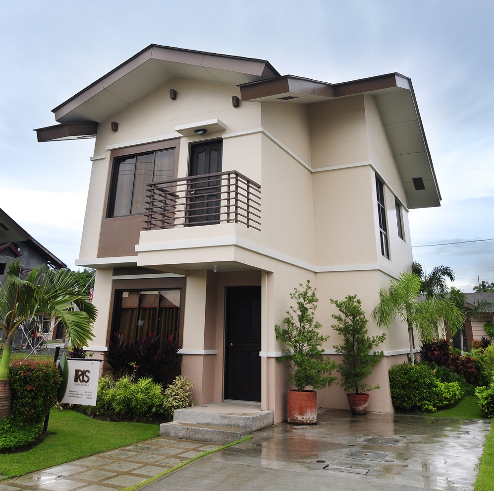 cloo40 1 - 15+ Simple Small Modern Minimalist Bungalow Philippines House Design Images