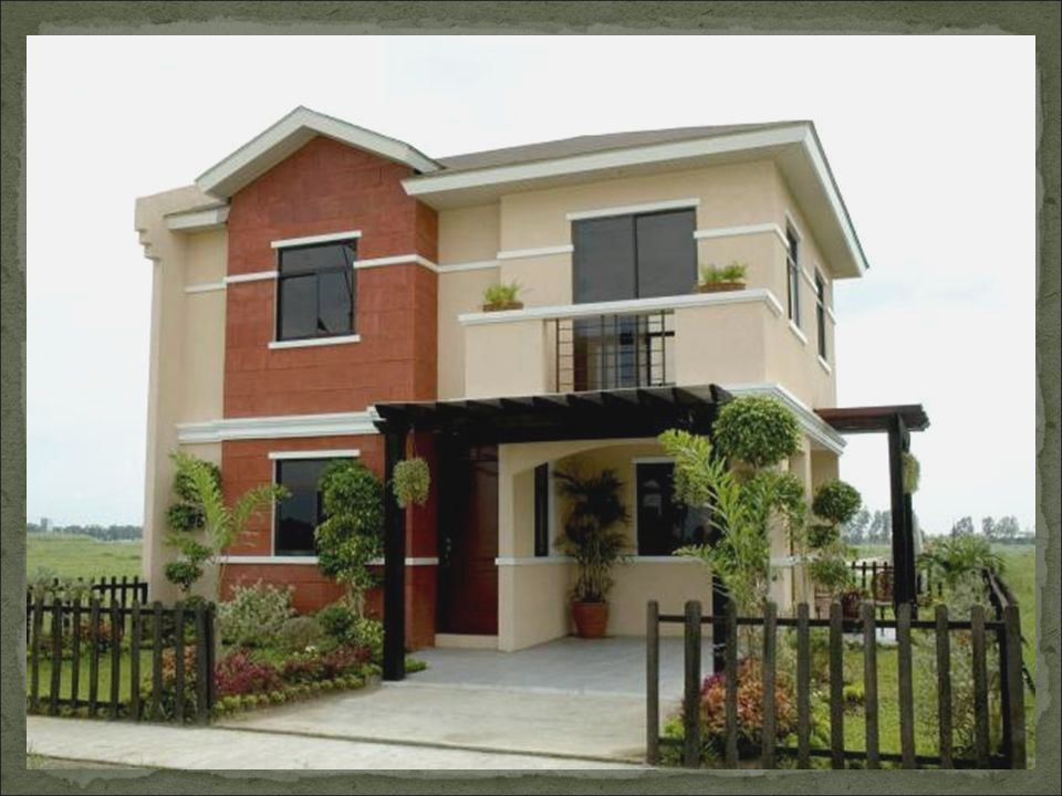 Simple house design in the philippines 2016 2017 fashion for Simple two storey house design