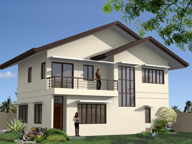 Simple house design in the philippines 2016 2017 fashion for 2nd floor house design in philippines