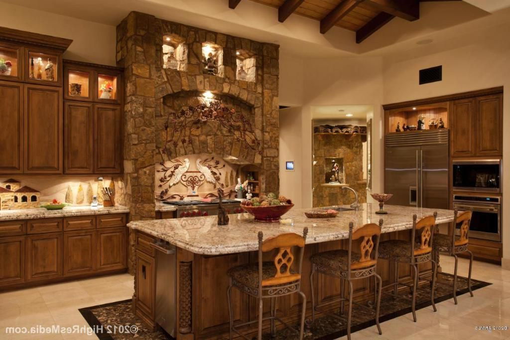 Designer Kitchen Decorating Ideas ~ Tuscan kitchen design ideas fashion trends