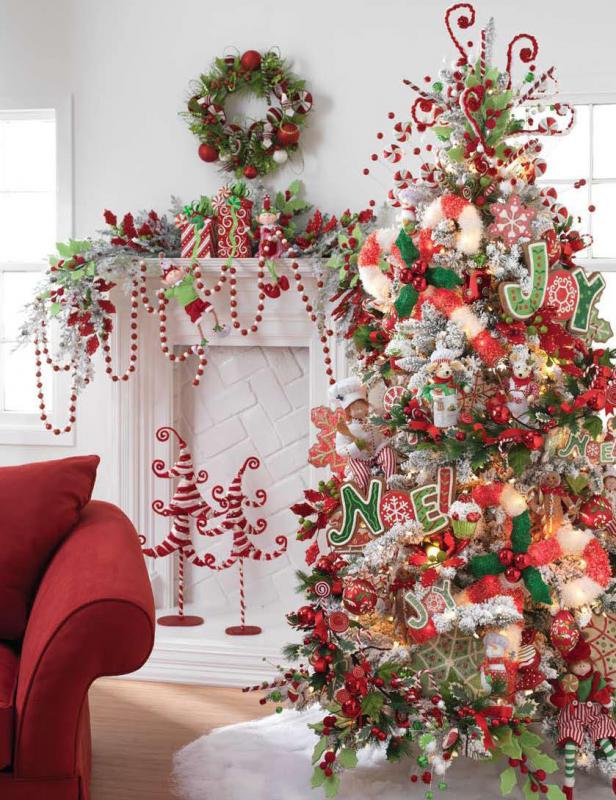 Christmas Decorations With 2017 On : Christmas tree decorations ideas fashion