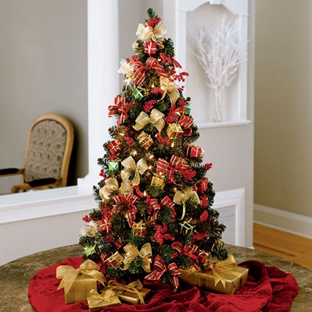 Christmas Tree Decorations Red And Gold Shopping Guide