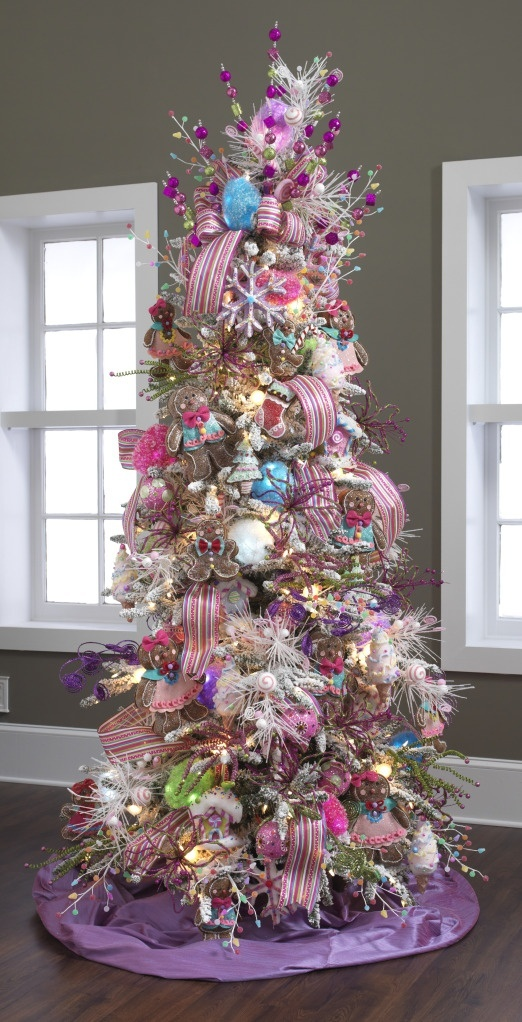 Christmas tree decorations ideas 2015 2016 fashion for Unique christmas tree themes