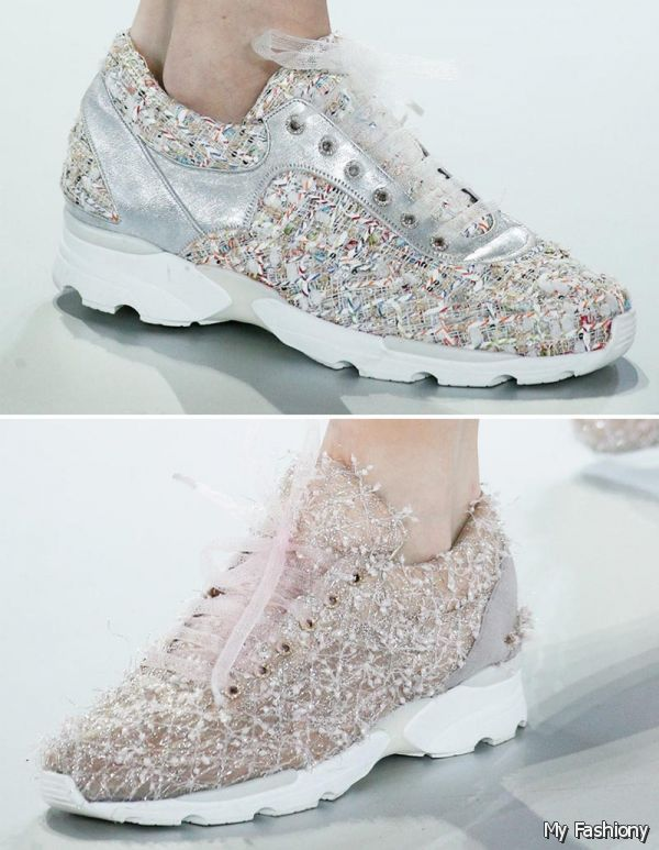 Chanel sneakers fall collection 2015 2016 fashion trends for Chanel haute couture price range