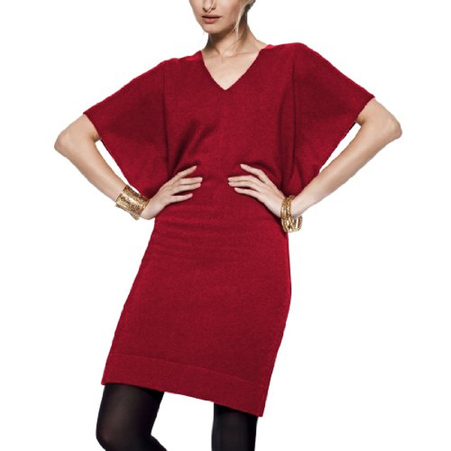100% Cashmere Sweater Dresses 2017