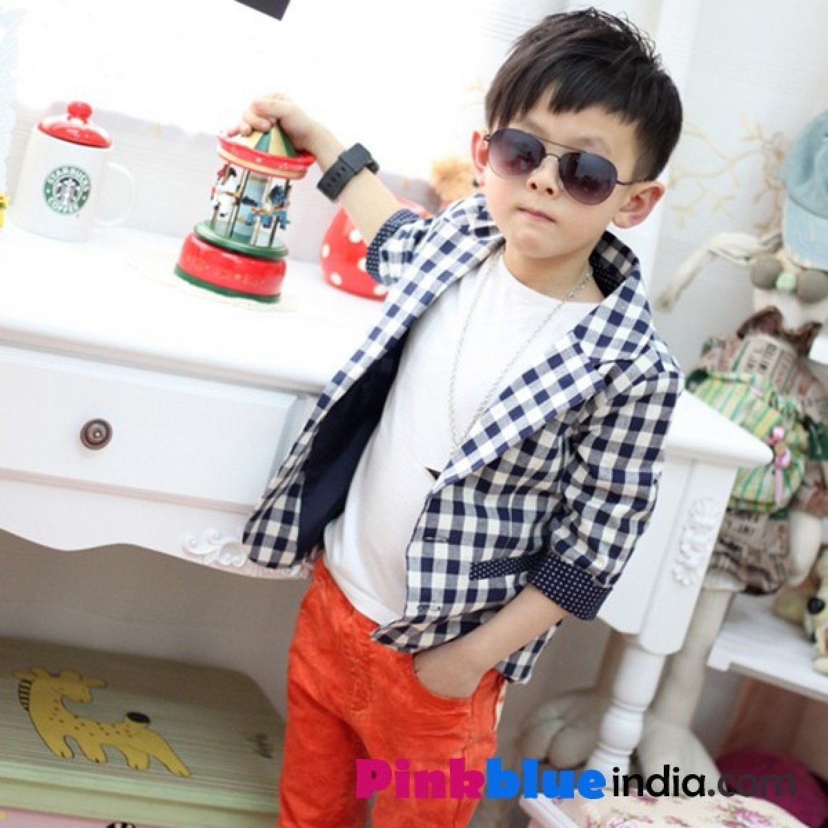 Cool and stylish boys with attitude