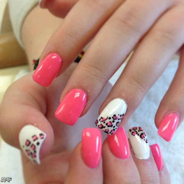 Acrylic Nails Tumblr Pink 2015-2016 | Fashion Trends 2016-2017