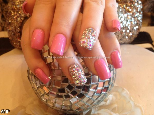 acrylic nails tumblr pink 20152016 fashion trends 20162017