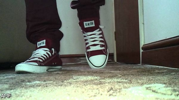 All Black Converse On Feet Shopping Guide We Are Number