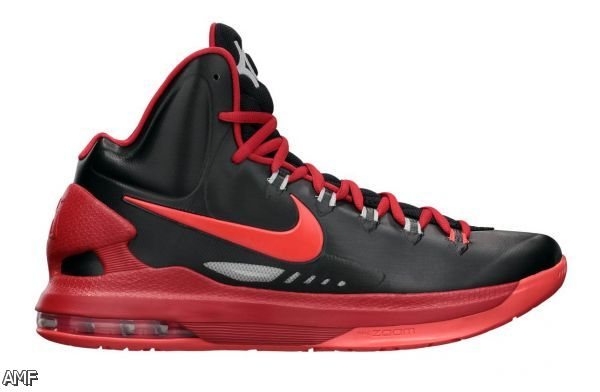All Black Nike Basketball Shoes 2015-2016Kd 5 High Top