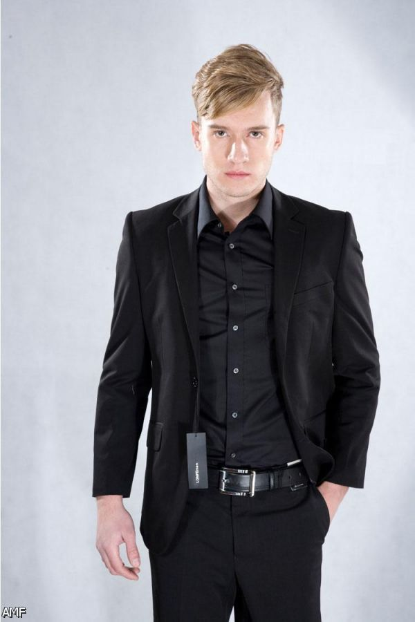 all black prom suits - photo #25