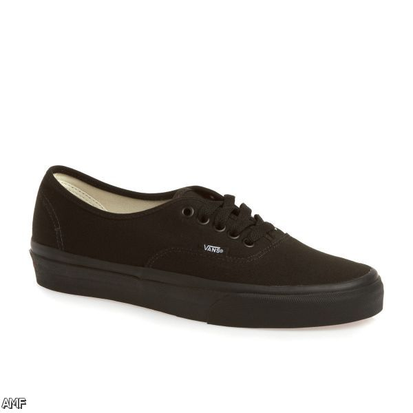 all black vans shoes for 2015 2016 fashion trends