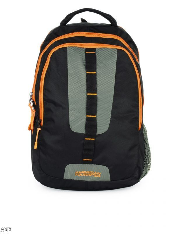 American tourister school bags red