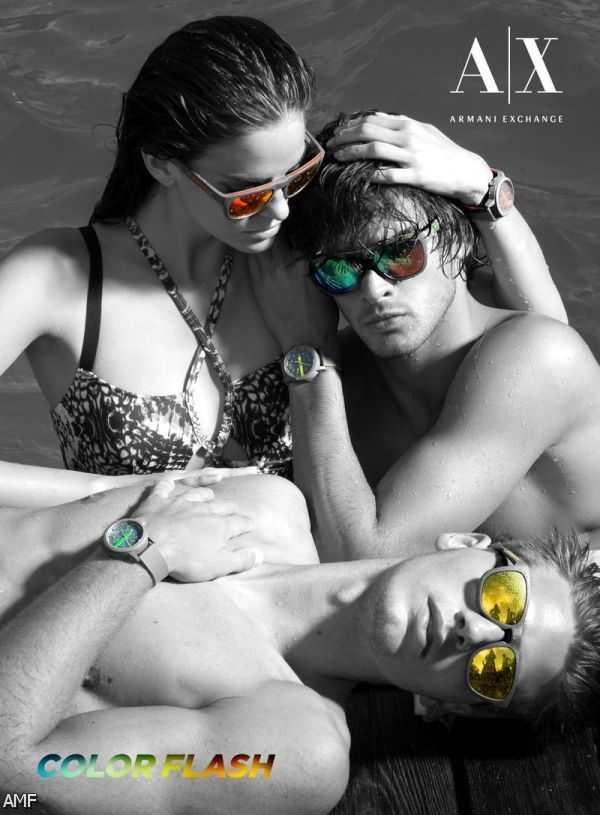 armani exchange ads shopping guide we are number one
