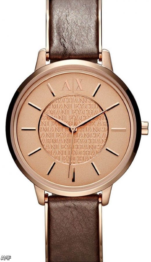 Armani Exchange Watches Leather 2015 2016 Fashion Trends