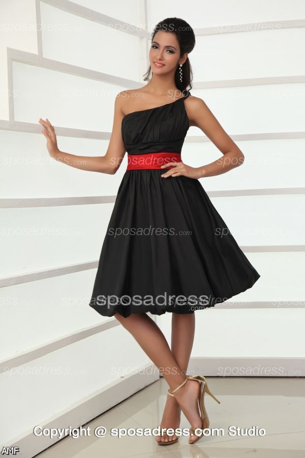 black and red cocktail dress 20152016 fashion trends