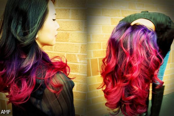Black Hair Ombre Red Tumblr 2015-2016 | Fashion Trends ...